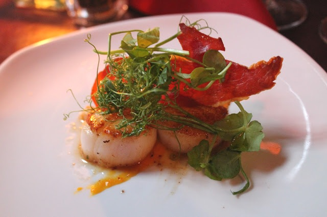 scallops prosciutto Meating Place Cardiff
