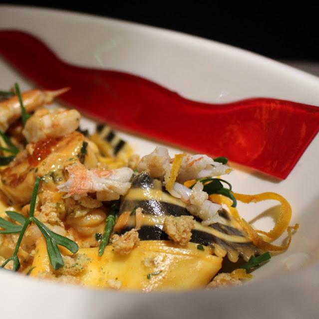 seafood pasta catherine zeta jones gemelli newport