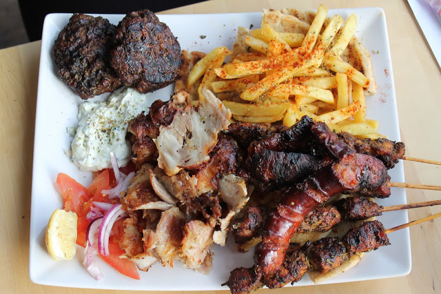 mixed grill Hellenic eatery